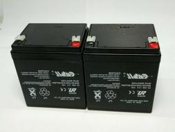 Casil Valve Regulated Sealed Lead-Acid Battery CA 1240 12V 4