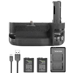 Neewer Vertical Battery Grip Kit for Sony A7 II A7R II, incl