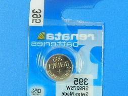 RENATA Watch Battery #395/SR927SW Swiss Made 1Pc