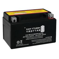 Mighty Max YTX7A-BS 12V 6AH Sealed AGM Battery for Motorcycl